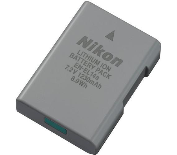 Nikon EN-EL14a dobíjecí baterie + DOPRAVA ZDARMA