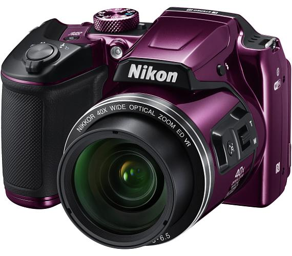 Nikon COOLPIX B500 Purple + DOPRAVA ZDARMA