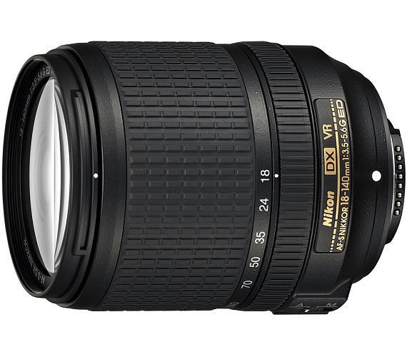 Nikon AF-S VR DX Zoom-Nikkor 18-140mm f/3.5-5.6G IF-ED (7,7x) + DOPRAVA ZDARMA