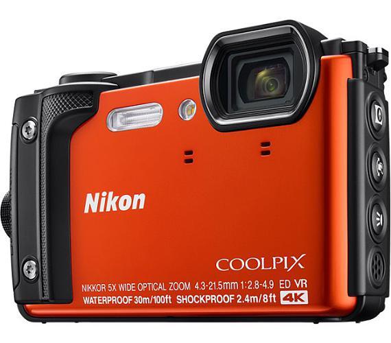 Nikon COOLPIX W300 Orange + DOPRAVA ZDARMA