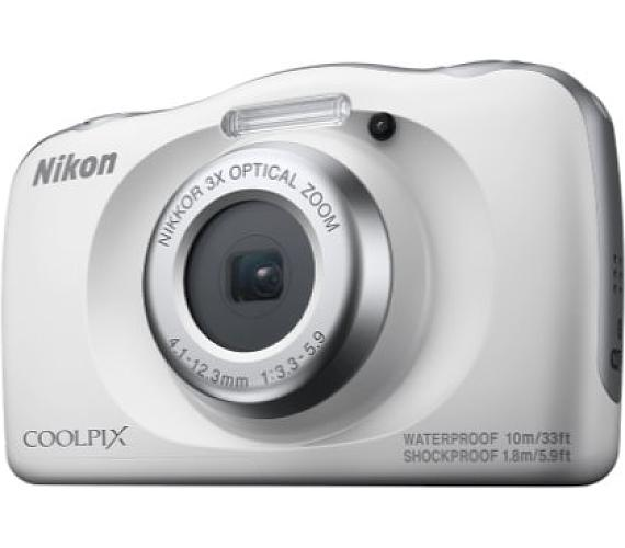 NIKON COOLPIX W150 White - Backpack kit