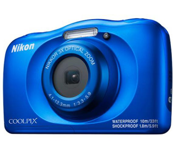 NIKON COOLPIX W150 Blue - Backpack kit