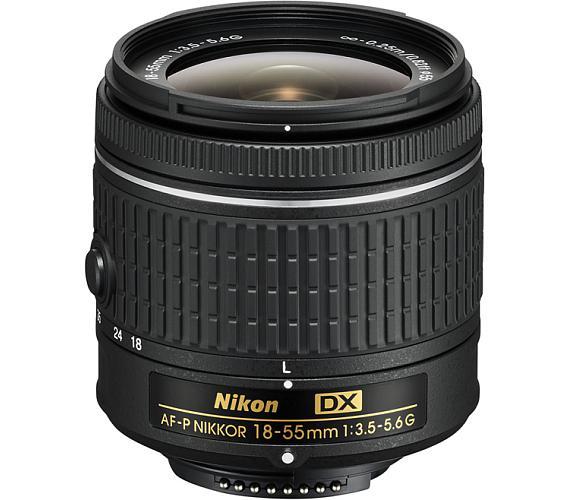 Nikon AF-P DX Zoom-Nikkor 18-55mm f/3.5-5.6G EDII (3,0x) černý + DOPRAVA ZDARMA