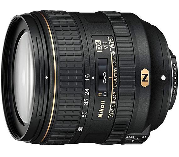 Nikon AF-S VR DX Zoom-Nikkor 16-80mm f/2.8-4E ED (5x) + DOPRAVA ZDARMA