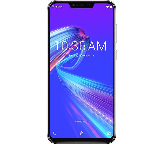 ASUS ZF Max M2 ZB633KL SDM632/32GB/4G/HD+/Android 8.1 stříbrný (ZB633KL-4J072EU) + DOPRAVA ZDARMA