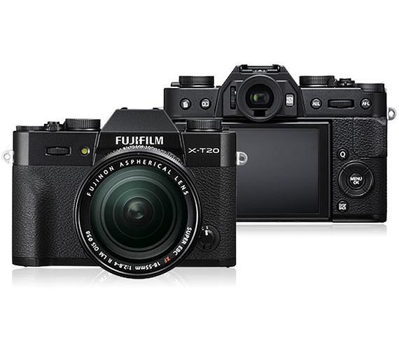 Fujifilm X-T20 + XF18-55 - Black (16542816)