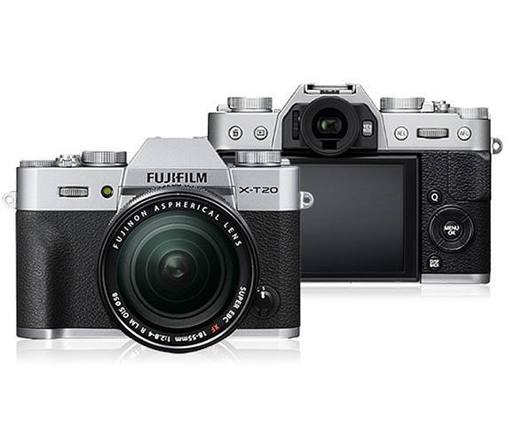 Fujifilm X-T20 + XF18-55 - Silver (16542684)