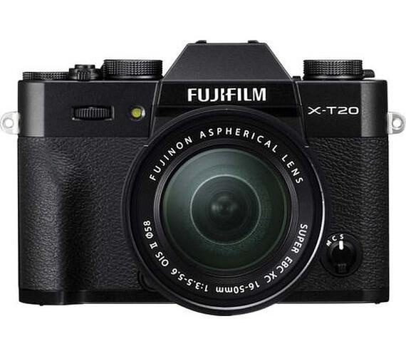 Fujifilm X-T20 + XC 16-50 - Black (16543078)