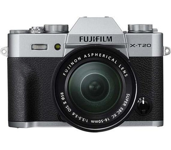 Fujifilm X-T20 + XC 16-50 - Silver (16542945)