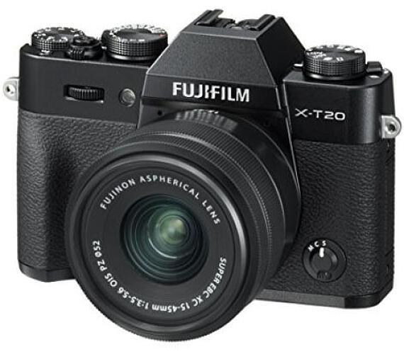Fujifilm X-T20 + XC15-45- Black (16584694)