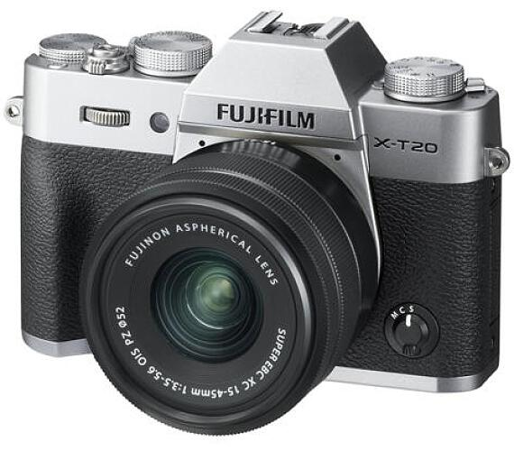 Fujifilm X-T20 + XC15-45 - Silver (16584577)
