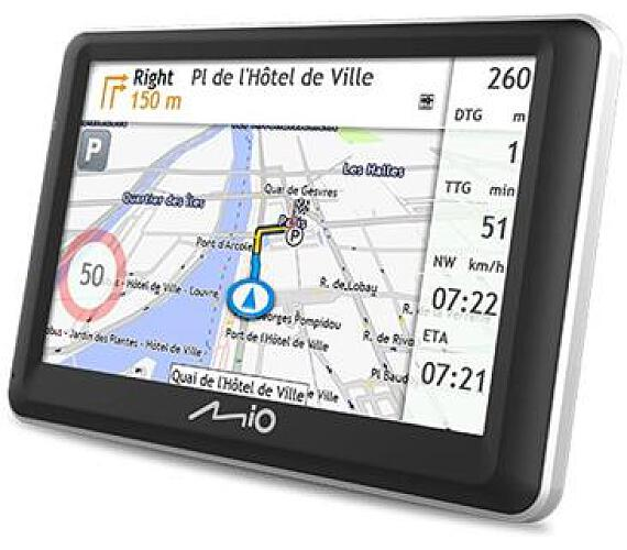 MIO Spirit 7700 Truck GPS navigace
