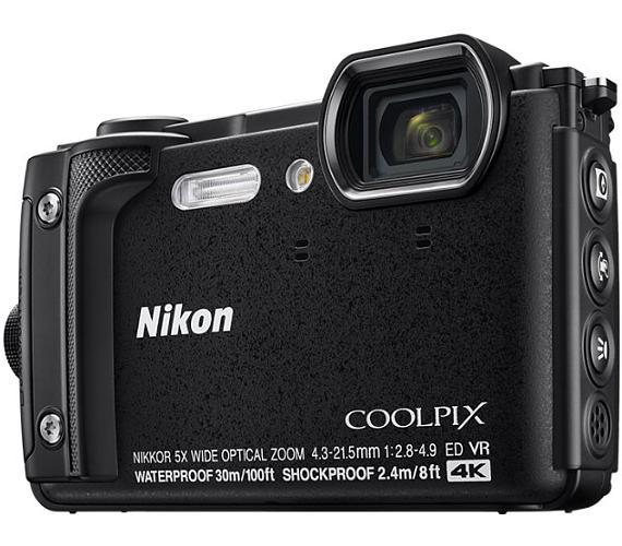 Nikon COOLPIX W300 Black + 2 in 1 plovoucí popruh + DOPRAVA ZDARMA