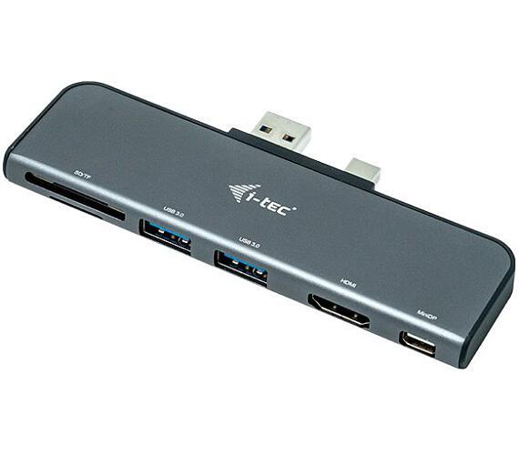 i-tec dokovací stanice Microsoft Surface/ HDMI/ mini DP/ 2x USB 3.0/ SD/ micro SD/ kompatibilní s W10 (U3SFPADA)