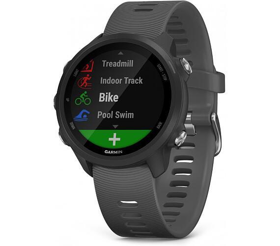 Garmin GPS sportovní hodinky Forerunner 245 Optic břidlicová (010-02120-10)