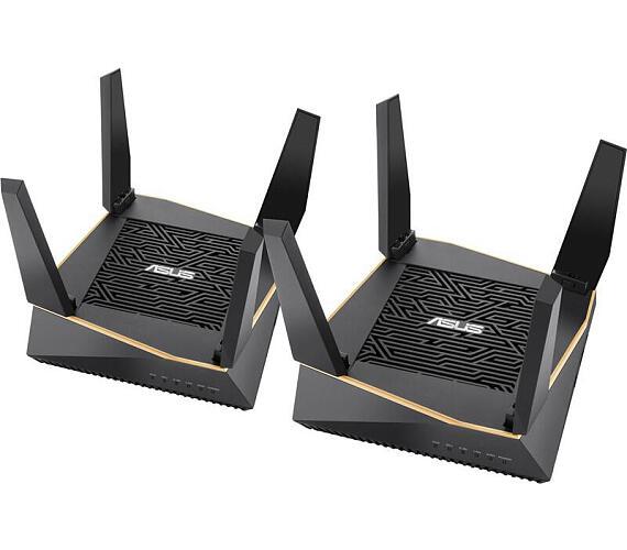 Asus RT-AX92U - 2 pack - ROG Rapture Tri-band Gigabit router (90IG04P0-MO3020)