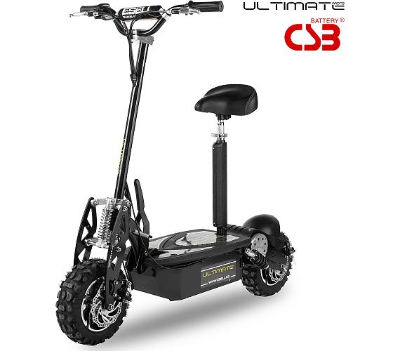 Elektrická koloběžka Ultimate CSB 1000W Rider černá Ultimate Racing