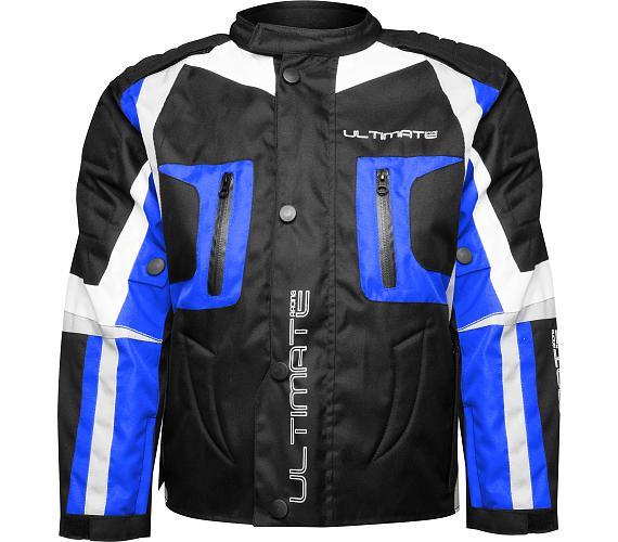 Dětská bunda Ultimate modrá Velikost 14 Ultimate Racing + DOPRAVA ZDARMA