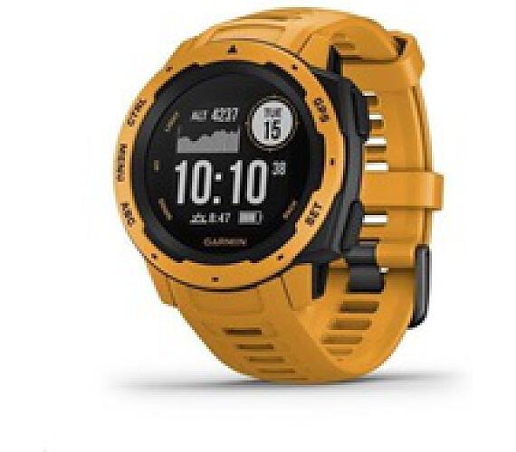 Garmin GPS sportovní hodinky Instinct Yellow Optic (010-02064-03)