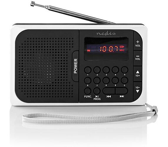 NEDIS RDFM2100WT BLACK/WHITE
