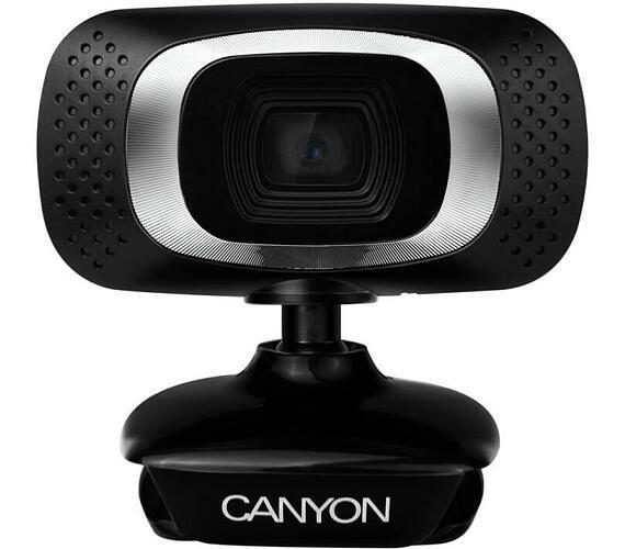 Canyon webová kamera C3N - HD 1280x720@30fps,1MPx,360°,USB2.0 (CNE-CWC3N)