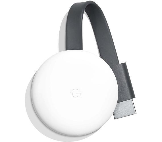 Google mini počítač Chromecast 3/ Full HD/ micro USB/ HDMI/ Wi-Fi/ Windows/ Android/ iOS/ bílý (GA00422)