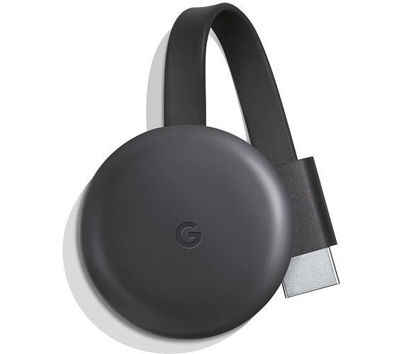 Google mini počítač Chromecast 3/ Full HD/ micro USB/ HDMI/ Wi-Fi/ Windows/ Android/ iOS/ černý (GA00439)