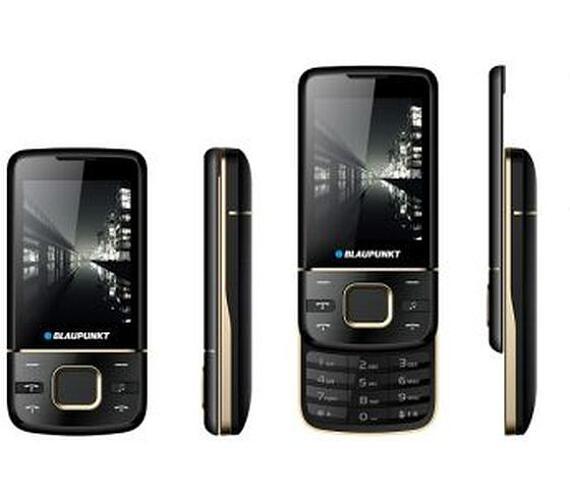 Blaupunkt FM 01 Slider Black/2.4´´/SD/2xSIM/0,3MPx/900mAh + DOPRAVA ZDARMA