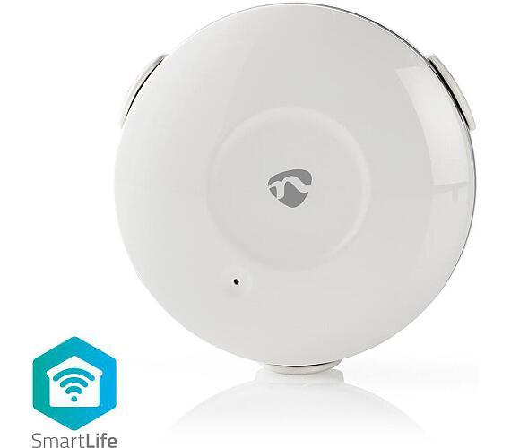 NEDIS WIFIDW10WT - WiFi Chytrý Detektor Úniku Vody / Napájení na baterii