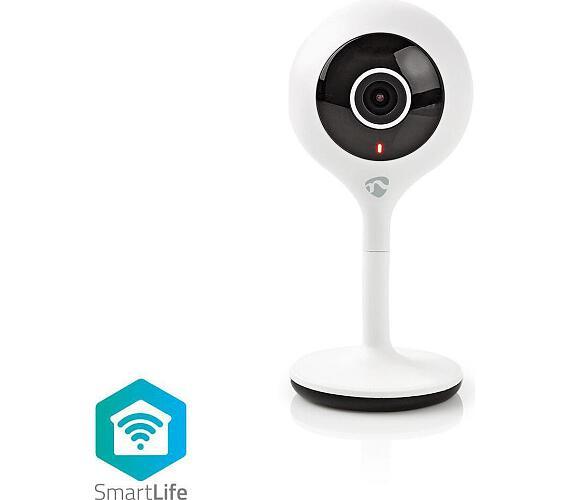 SmartLife Vnitřní Kamera | Wi-Fi | HD 720p | Cloud / Micro SD | Noční vidění | Android™ & iOS | Bílá + DOPRAVA ZDARMA