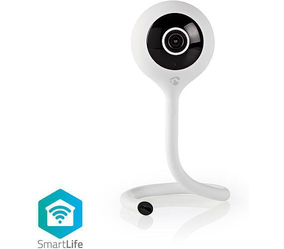 NEDIS WIFICI11CWT - WiFi Chytrá IP Kamera / Senzor pro sledování klimatu / FULL HD 1080p