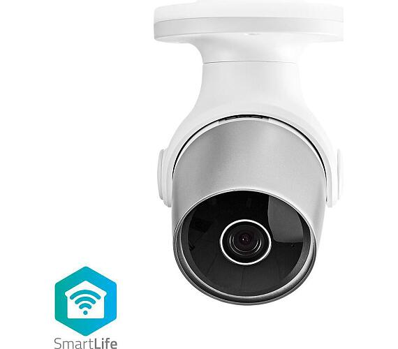 NEDIS WIFICO11CWT - Wi-Fi Chytrá IP Kamera / Venkovní / Vodotěsná / HD 720p