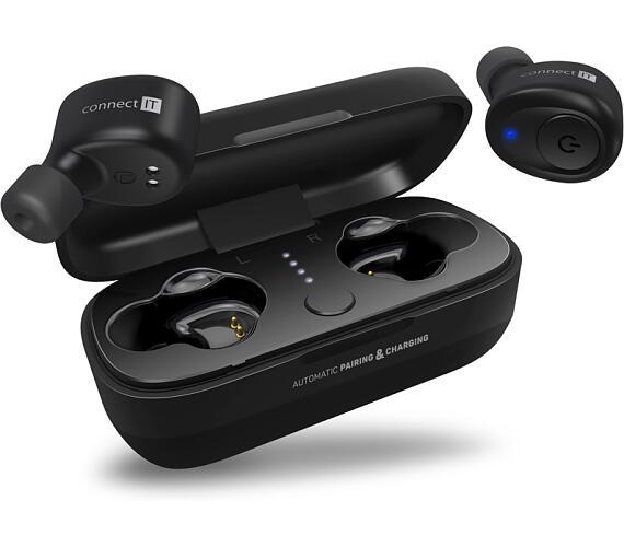 CONNECT IT True Wireless HYPER-BASS Ed. II Bluetooth sluchátka do uší s mikrofonem