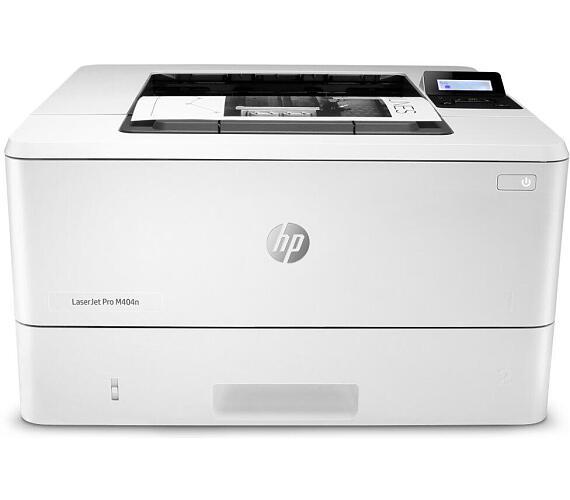 HP LaserJet Pro 400 M404n/ A4/ 38ppm/ 4800x600/ USB/ LAN/ bílá (W1A52A#B19) + DOPRAVA ZDARMA