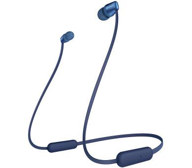 Sony WIC310L.CE7 Bezdrátová sluchátka do uší - Blue + DOPRAVA ZDARMA