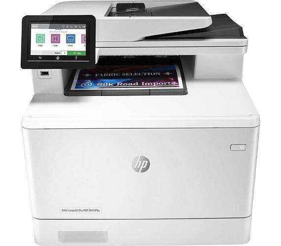 HP Color LaserJet Pro M479fdn MFP/ A4/ 27ppm/ print+scan+copy+fax/ 600x600dpi/ USB/ LAN/ ADF/ duplex (W1A79A#B19)