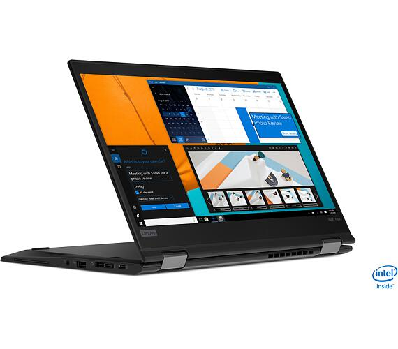 "Lenovo ThinkPad X390 Yoga i5-8265U/8GB/512GB SSD/UHD Graphics 620/13,3""FHD Touch IPS+IRcam/4G/W10PRO/Black (20NN002FMC)"