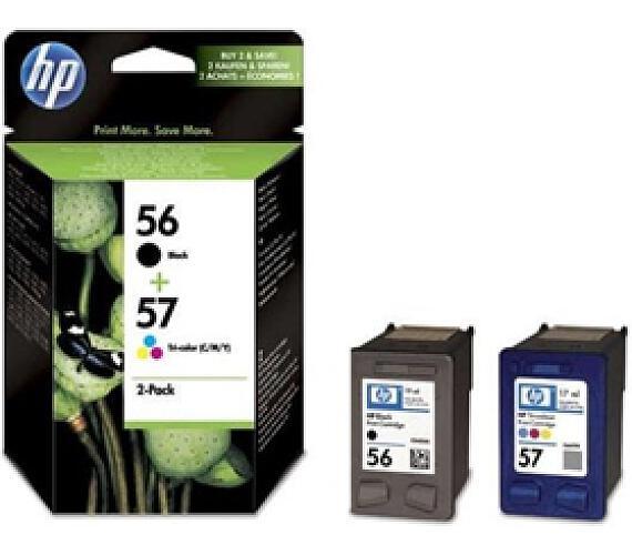 Inkoustová náplň HP No. 56 + 57