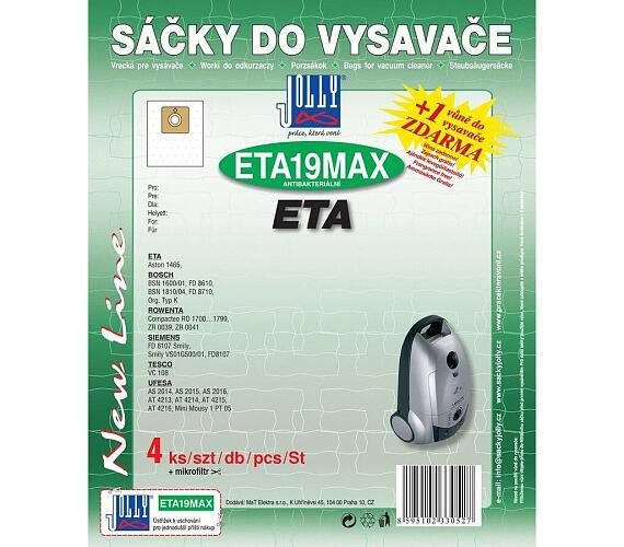 Jolly MAX ETA 19 (4ks) do vysav. Eta