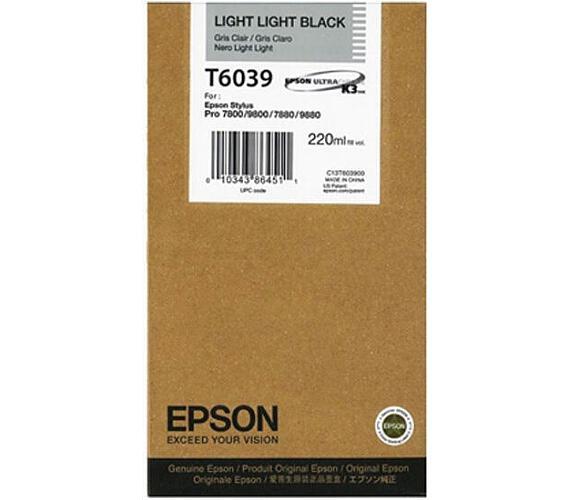 Epson T603900 + DOPRAVA ZDARMA