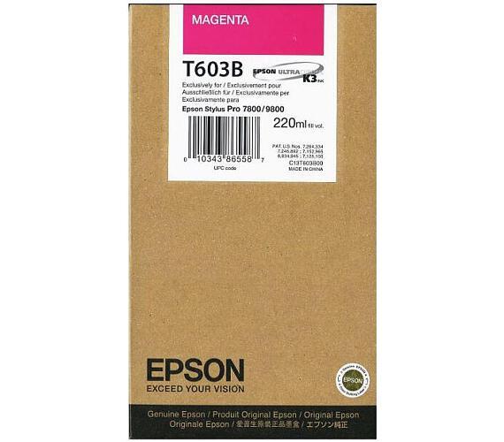 Epson T603B00 + DOPRAVA ZDARMA