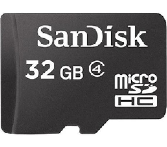 Sandisk MicroSDHC 32 GB Class 4