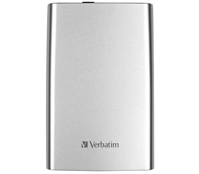 Verbatim Store 'n' Go 500GB - stříbrný