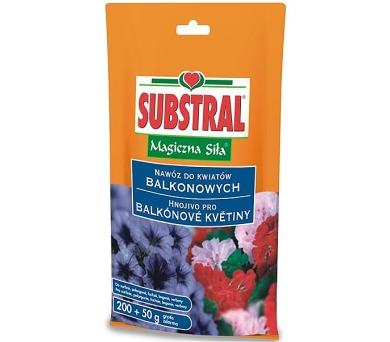 Hnojivo Substral vodorozpustné pro balkónové rostliny 250g