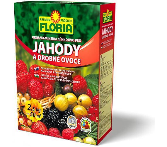 Agro FLORIA pro jahody a ovoce 2,5 kg