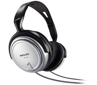 Philips SHP2500 - černá/šedá + DOPRAVA ZDARMA