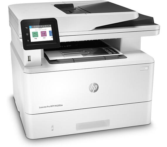 HP LaserJet Pro MFP M428fdw/ A4/ print+scan+copy+fax/ 38ppm/ 1200x1200dpi/ USB/ LAN/ WiFi/ DADF/ duplex/ dotykový panel (W1A30A#B19) + DOPRAVA ZDARMA