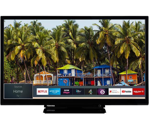 Toshiba 24W2963DG + DVB-T2 OVĚŘENO