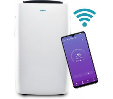 REFREDO TAC-12CPB/KA Wi-Fi + 3 roky rozšířená záruka! + DOPRAVA ZDARMA