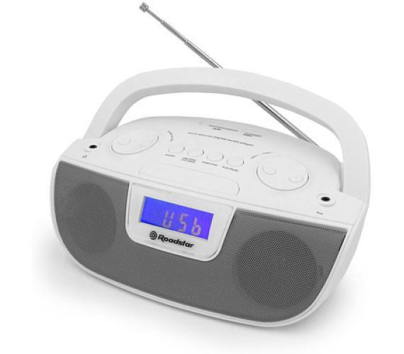 Roadstar RU-275/WH Přenosný CD/USB přehrávač s RP + DOPRAVA ZDARMA